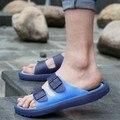 2017 мужчины тапочки сандалии летом Сандалии пары противоскользящие флип-флоп обувь мужская, тапочки бесплатная доставка