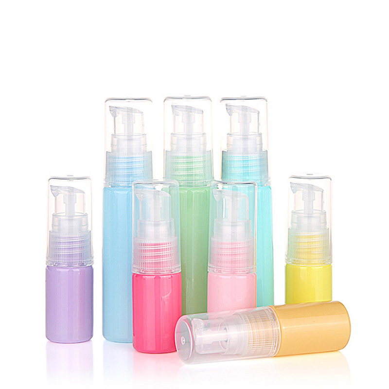 Silicone Refillable Portable Mini Empty Cosmetic Container Perfume Traveler Packing Bottle Press Bottle for Lotion Shampoo Bath цена