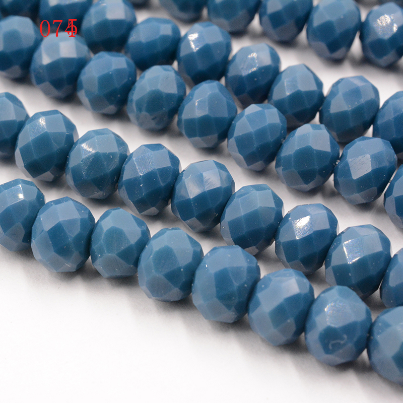 FLTMRH 4mm Czech Glass Crystal Beads for Jewelry Making Natural Faceted Spacer Hole Bead For Kids DIY Bracelets kralen perles