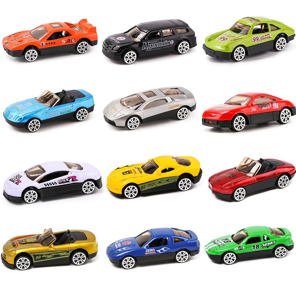 Model Car 1:72 Dazzle Fashion Sports Toy Car Diecast Metal Simulation Vehicles Toys For Children