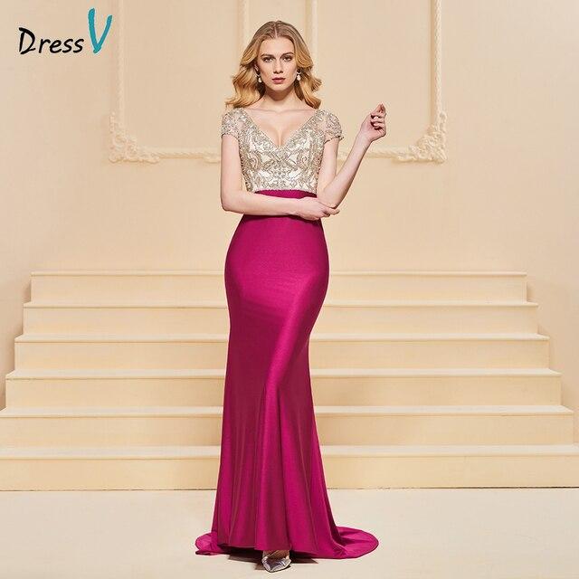 Vestido de noche de sirena, mangas cortas elegantes, sin tirantes, largo hasta el suelo, con cuentas, para fiesta de boda, formal