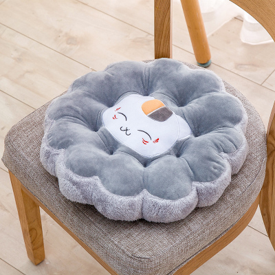 computer chair seat cushion. New Flower Shape Round Floor Cushion Mat Cartoon Computer Chair Tatami Sofa Seat Pillow Plush Toy Christmas Gift-in From Home C
