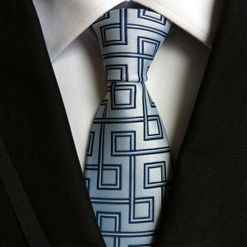 Mantieqingway ब्रांड फैशन विंटेज पुरुषों के सूट नेकटाई पॉलिएस्टर रेशम मुद्रित प्लेड संबंधों डॉट Gravata पुरुषों के सूट व्यापार टाई के लिए