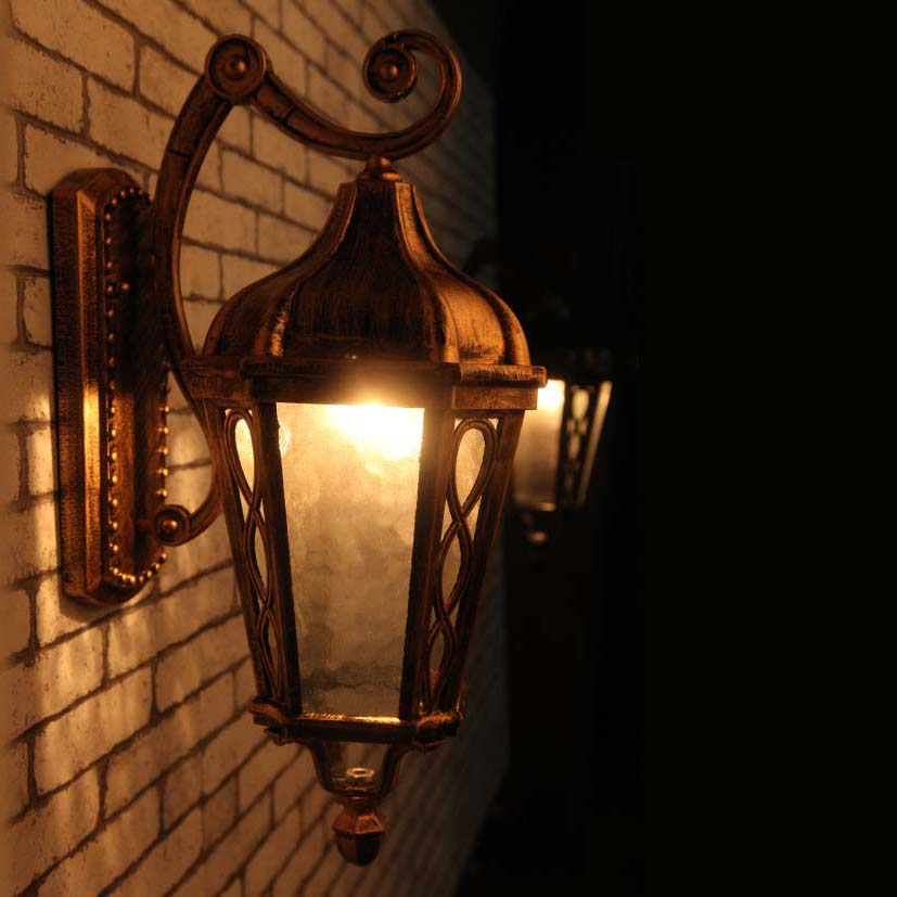 Wall Sconce Porch Lights : ?European LED lamp Aluminum Wall ?? Outdoor Outdoor Wall Sconce Lighting Waterproof ? Garden ...