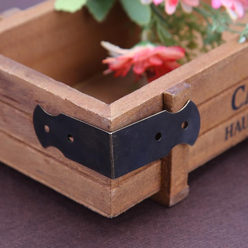 12pcs Four Holes Decorative Antique Jewelry Gift Box ...