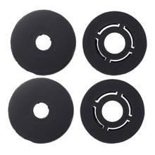4 pçs tapete do carro clips suportes de assoalho fixação apertos braçadeiras