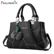 цены FGJLLOGJGSO Women Bag Pu Leather Tote Casual Brand Bag Ladies Handbag Evening Bag Solid Female Messenger Bags Travel Fashion Sac