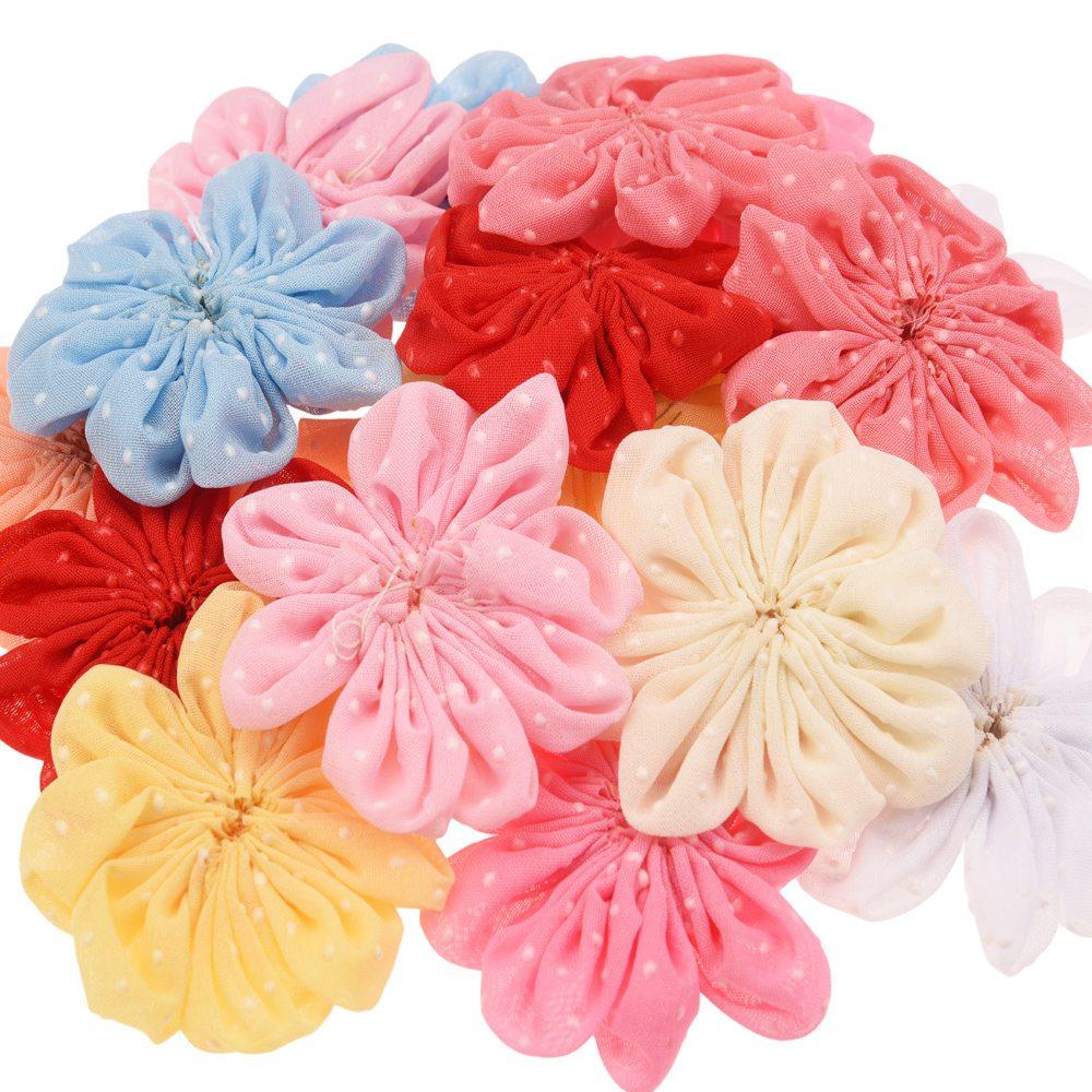 27pcs boutique 5cm hair flower