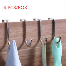 Metal Hooks Heavy Duty 304 Stainless Steel Flat for Hanging Plants Pots Pans Towels Clothes Bag
