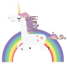Unicorn Rainbow Wall Stickers For kids Room Girls Bedroom Window Nursery Decor Birthday Gift