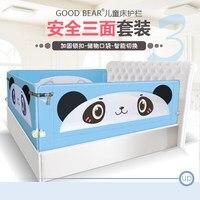 Детская Кроватка Забор 1,8 Универсальный ребенок 2 м кровать рельсы ребенок капли прикроватная перегородка три стороны