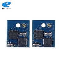 Chip de reinicio de Tóner para lemark MX710/MX711/MX810/MX811/MX812 chips de cartucho láser para impresora Norteamérica 62D1000 (621) 6 K