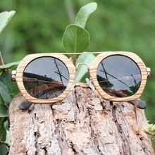 AN SWALLOW luxury retro sunglasses women polarized uv400 high quality natural handmade Zebra Wooden sun glasses for men