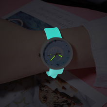 Children's Quartz Watches Luminous Silicone Band Kids Watches