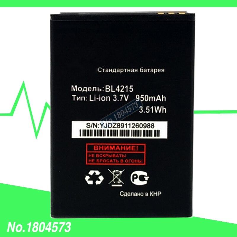 BL 4215 BL4215 Batterie Pour Fly Q115 COMPTOIR-CAISSE MC180. DESIRE MC181 B501 Batterie Mobile Batteries de Téléphone 1 PC/Lot