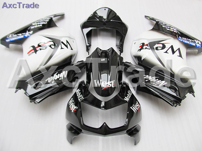 Moto Motorcycle Fairing Kit For Kawasaki Ninja 250 ZX250 EX250 2008-2012 08 - 12 ABS Plastic Fairings fairing-kit White Black