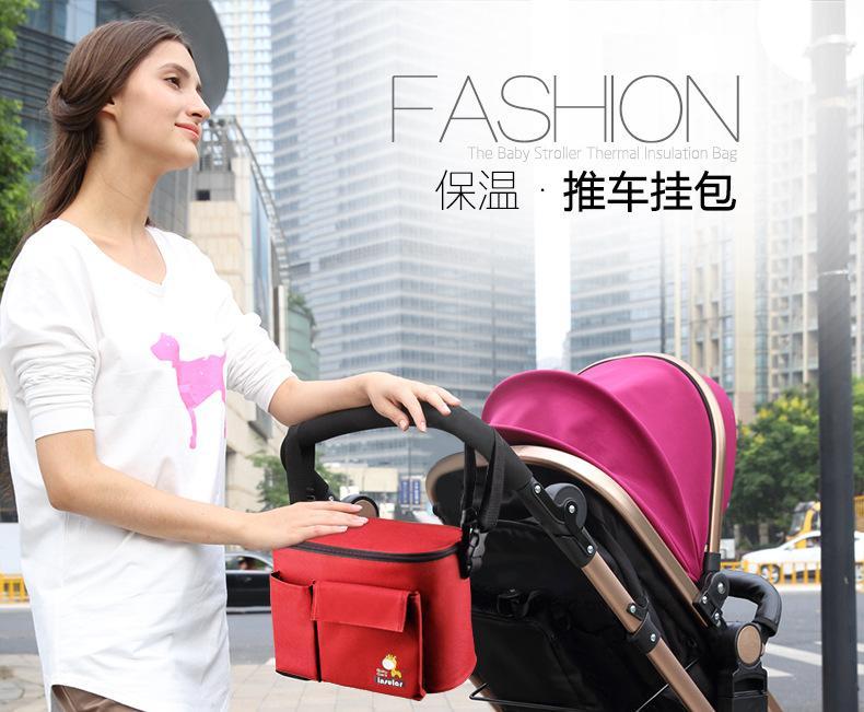 Stroller-Bag Organiser Hanging-Basket Baby 6-Colors High-Quality