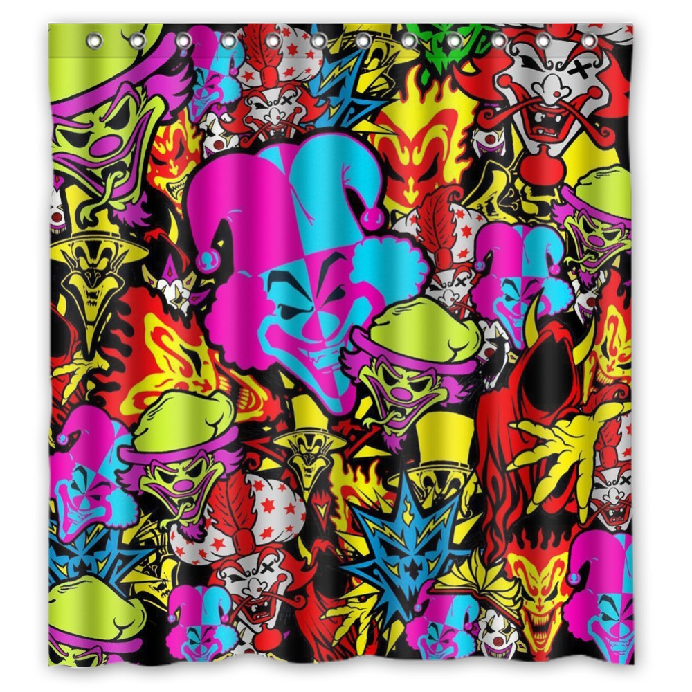 Fairy shower curtain - Anime Shower Curtain One Piece Dragon Ball Z Bleach Fairy Tail Naruto Together Insane Clown Posse Shower Curtain 66x72 Inch