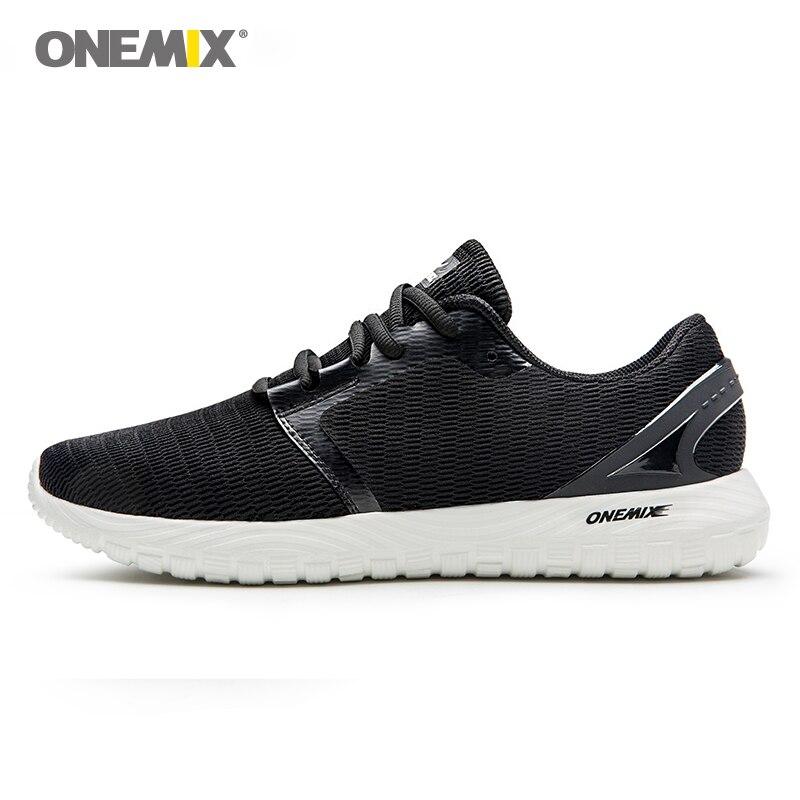 ONEMIX homme chaussures de course baskets cool semelle déodorante léger et confortable baskets pour la course en plein air monopolisant marche