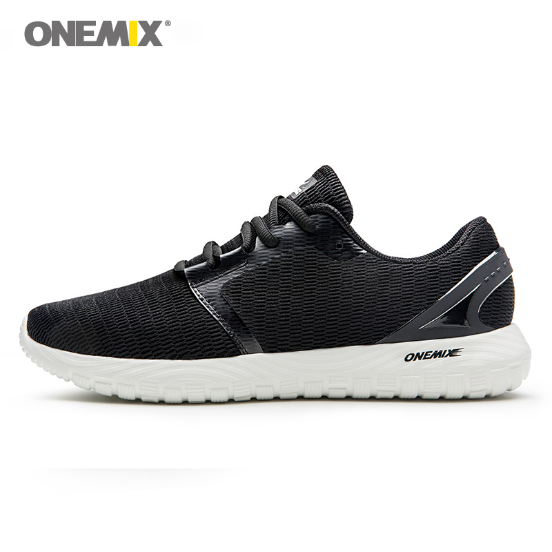 ONEMIX männer laufschuhe coolen sneakers deodorant innensohle licht weichen bequemen turnschuhe für laufen outdoor hogging walking