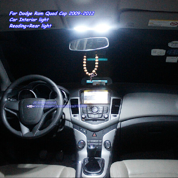 Car Led Parking Interior Light Kit In Xenon White For