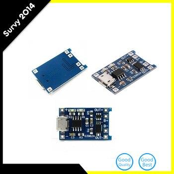 5 шт. 5 В 1A Micro USB 18650 литиевая Батарея зарядки доска Зарядное устройство Модуль + защита двойной функции