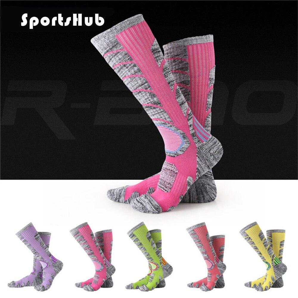 SPORTSHUB Термальность открытый Лыжный Спорт Спортивные носки горный велосипед гонки Велоспорт носки для бега/Школа/Кемпинг/Пеший Туризм SAA0080