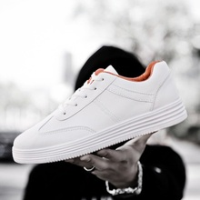 2019 wild trend white shoes men's casual sports shoes white trend men's shoes