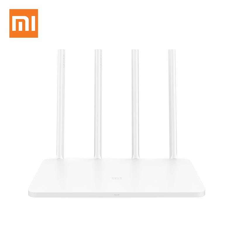 Prix pour Xiaomi WIFI Routeur 3 Anglais Version UE Plug 1167 Mbps WiFi Répéteur 2.4G/5 GHz 128 MB Double bande APP Contrôle WiFi Sans Fil Routeurs