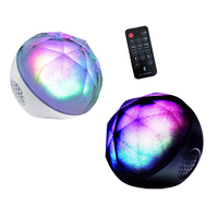 Wireless Bluetooth4.0 Speaker Colorful Ball Lights support TF card 3.5mm Line in Super bass subwoofer speakers For cell phone