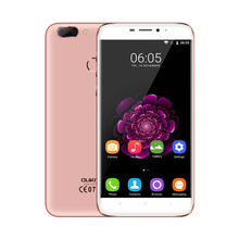 Original Oukitel U20 Plus 5.5 Inch Fingerprint Dual Back Camera Smartphone Android 6.0 MTK6737T 1.5 GHz Quad Core 2G RAM 16G ROM(China)