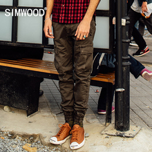 SIMWOOD 2016 New Autumn Winter tactical  Cargo Pants  Men camouflage  sportwear Fashion trousers KX5532