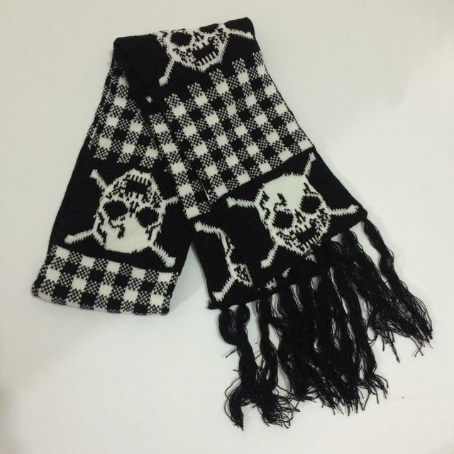 Unisex Skull Scarf 2 Styles 3