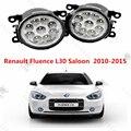 Para RENAULT FLUENCE (L30) 2010-2015 para el parachoques delantero alto brillo LED faros de niebla lámparas Car styling blanco 1 Unidades