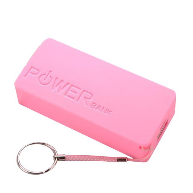 5600mAh 2X 18650 USB Power Bank Battery Charger Case DIY Box For iPhone Sumsang Futural Digital Drop Shipping