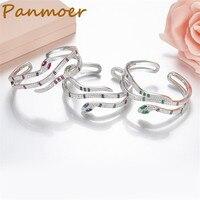 S925 Sterling Silver micro zircon stylish personality snake bracelet & bangles for women temperament Bracelet charms jewelry