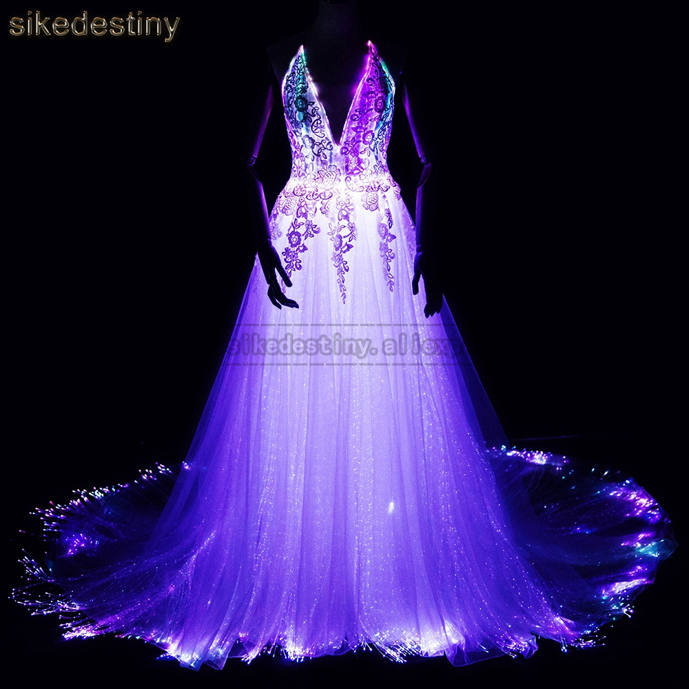 Luminous Wedding Dress 2018 Night Glow