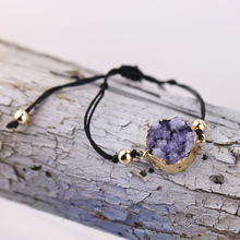 Drusy Bracelet Stone Bracelet Drusy Geode Druzy Stone Bracelet For Women B032