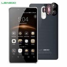 LEAGOO M8 Pro 4G Smartphone Android 6.0 2G RAM 16 GB ROM MT6737 Dört Çekirdekli 5.7 Inç 3500 mAh 13.0MP Çift Arka Kamera Cep Tel...