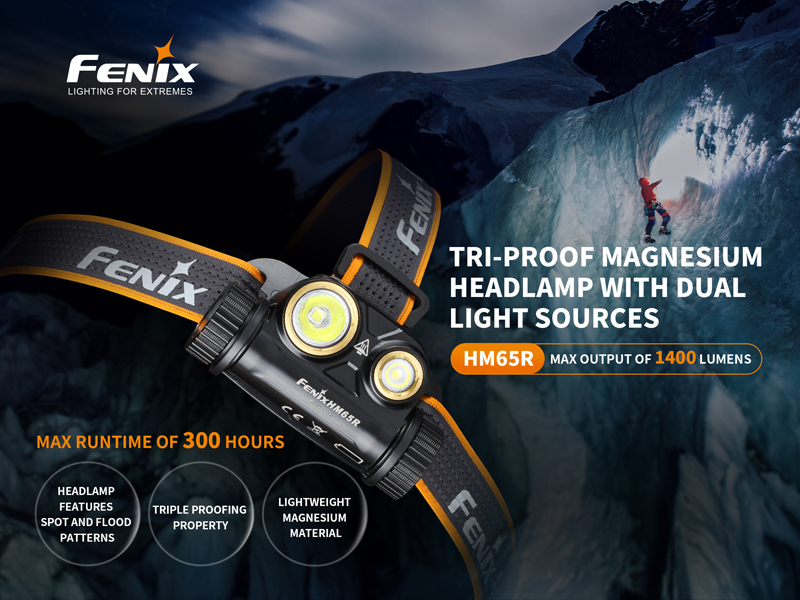 Fenix HM65R 1400 Lumens Headlamp (8)