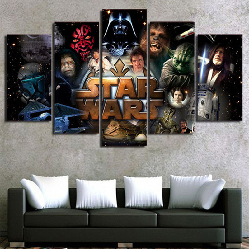 diy 5pcs/set mosaic full 5d diamond embroidery Movie Star Wars,3d diamond painting cross stitch square drill multi-pictures