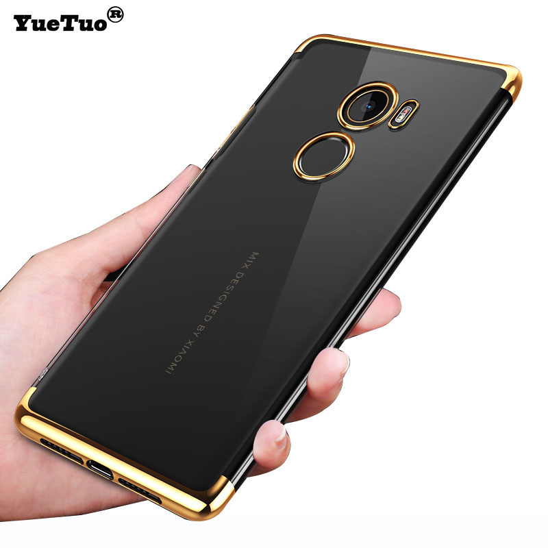 YueTuo case for xiaomi mi mix <font><b>2</b></font> 2s max 3 mix2 mix3 max3 note 3 ultra thin silicone silicon soft tpu clear back phone cover coque image
