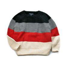 2016 new winter child women and boys sweater 100% cotton knitted sweater spherical neck youngsters garments free delivery age from 2-7T