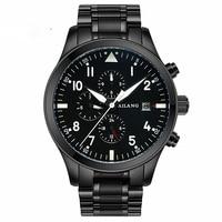 Luxury Brand Men Fashion Automatic Mechanical Watch Men Stainless Steel Waterproof Calendar Casual Sport Watch Relojes