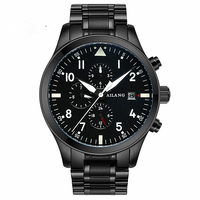 Luxury Brand Men Fashion Automatic Mechanical Watch Men Stainless Steel Waterproof Calendar Casual Sport Watch Relojes