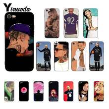 Yinuoda Chris Brown Breezy Pattern Phone Case for iPhone 8 7 6 6S 6Plus X XS MAX 5 5S SE XR Cover 11 pro max(China)