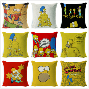 Simpsons Cushion Cover Family