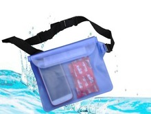 Men PVC Waterproof Transparent Waist Bag (5 colors)