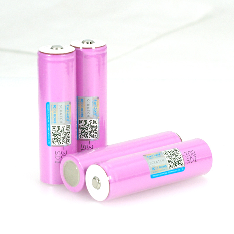 Image 5 - VariCore 3.7V 18650 INR18650 30Q 3000mAh li ion Rechargeable battery For Flashlight Batteries + Pointed-in Replacement Batteries from Consumer Electronics