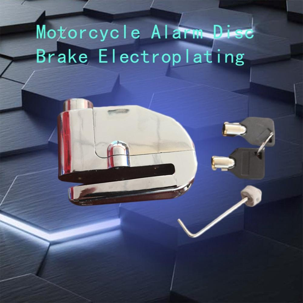Smart Induction Invisible Alarm Sensor Motorcycle Anti-theft Device Brake Disc Lock Remote Moto Alarma Theft Protection